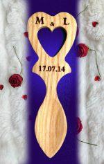 Mini Love Spoon Wedding Favour Engraved MJ4