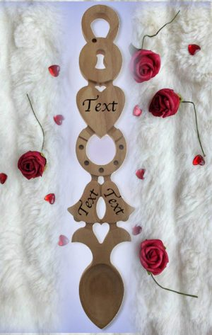 Wedding & Anniversary Love Spoons M103