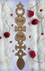 Wedding & Anniversary Love Spoons N113