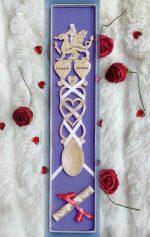 Welsh Dragon Love Spoon KD4