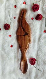 christening welsh love spoon 008