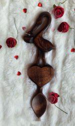 christening welsh love spoon gift
