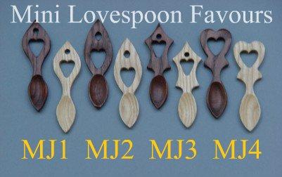 mini love spoon size