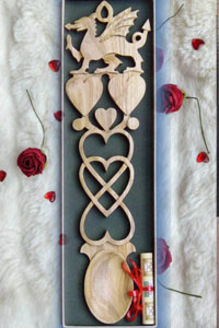 Wedding Welsh Love Spoons
