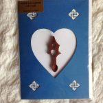 welsh love spoon card home