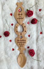 welsh love spoons H72